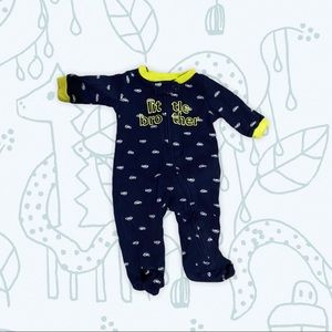 [3 for $15] Little Brother baby PJ sleeper